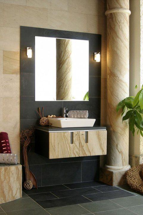 Batroom Roman style | Beautiful bathrooms, Framed bathroom ...