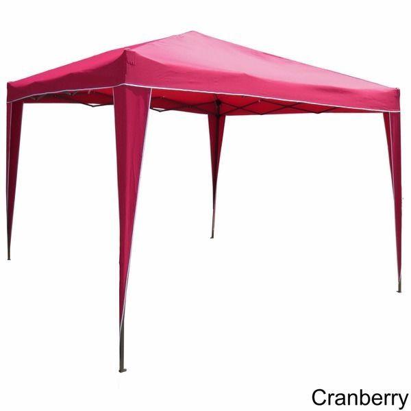 Folding Patio Cover Gazebo Sun Shade Beach Umbrella BBQ Grill Canopy Tent  Tailga #international - Folding Patio Cover Gazebo Sun Shade Beach Umbrella BBQ Grill
