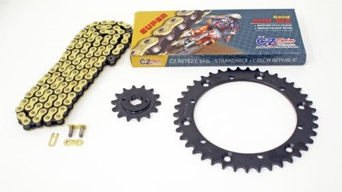 Polaris 400L 2x4 1994-1995 400L Chain and 13//34 Sprocket Set