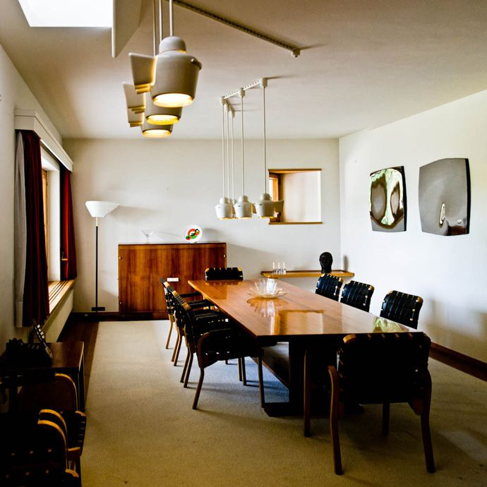 Modern Private House Designed by Alvar Aalto: Maison Louis Carr