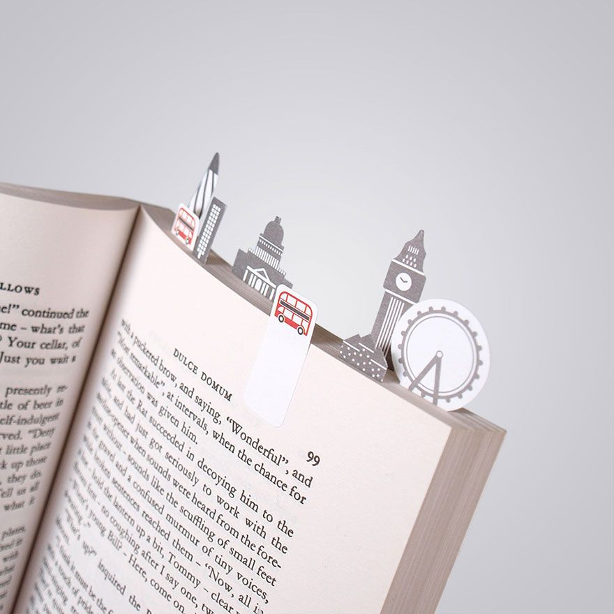 Bookmarks For Books Part - 26: 23 Adorable Tiny Paper Bookmarks For Bookworms
