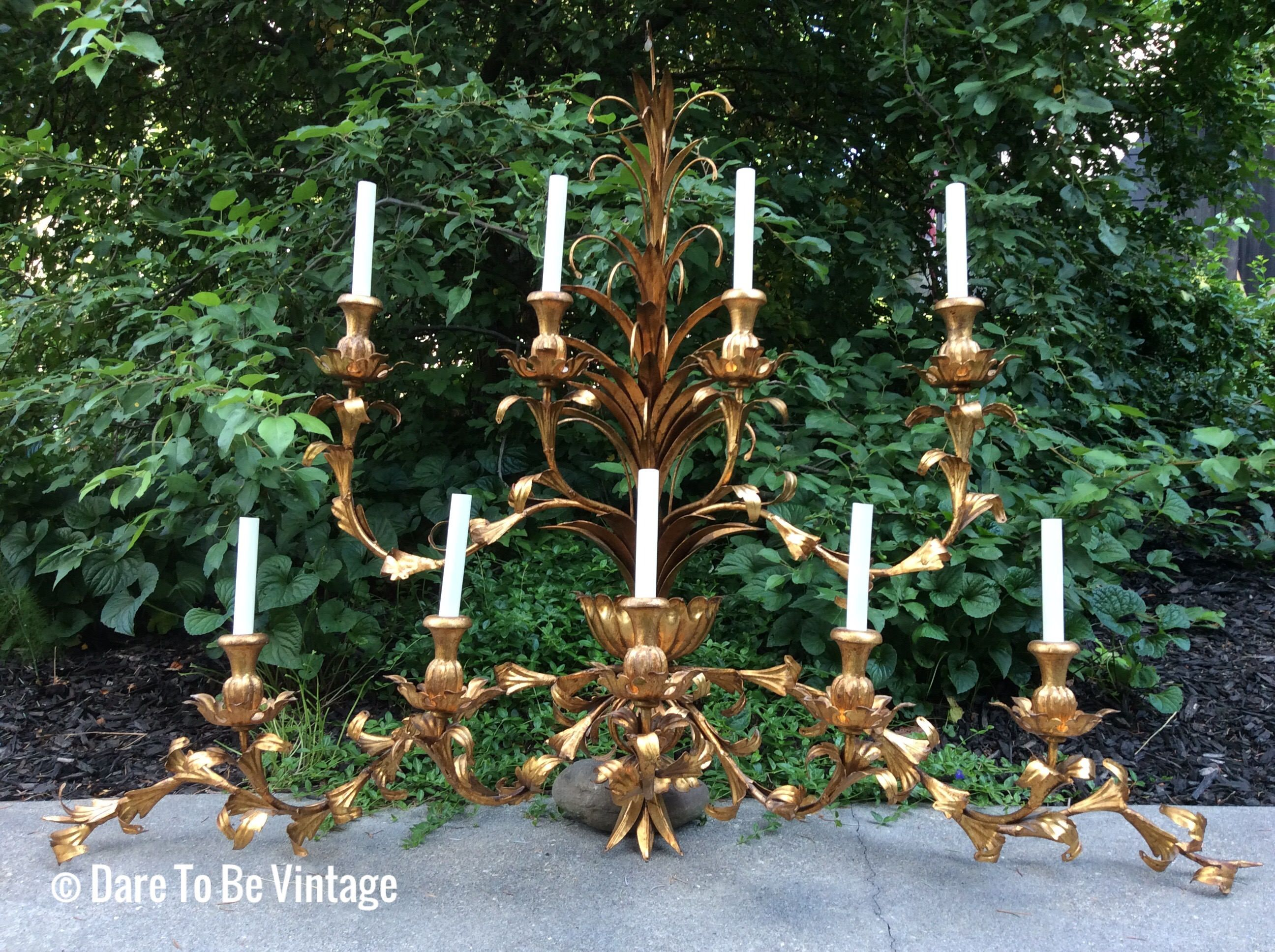 30 Inch Vanity Light | Wall sconces, Vintage hollywood and Hollywood ...