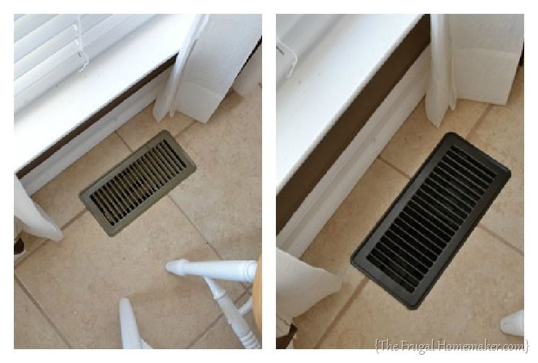 Update Your Vent Covers With Spray Paint The Frugal