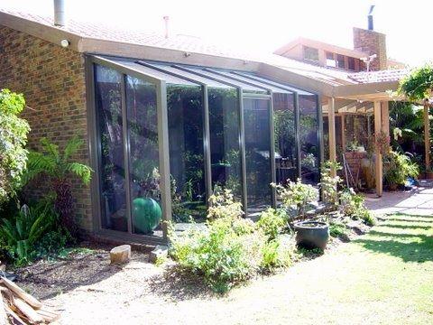 Commercial Aluminium Hooded Garden Window