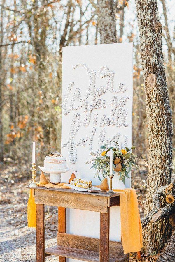 How To Throw An Enchanting Woodland Wedding Wedding Decor