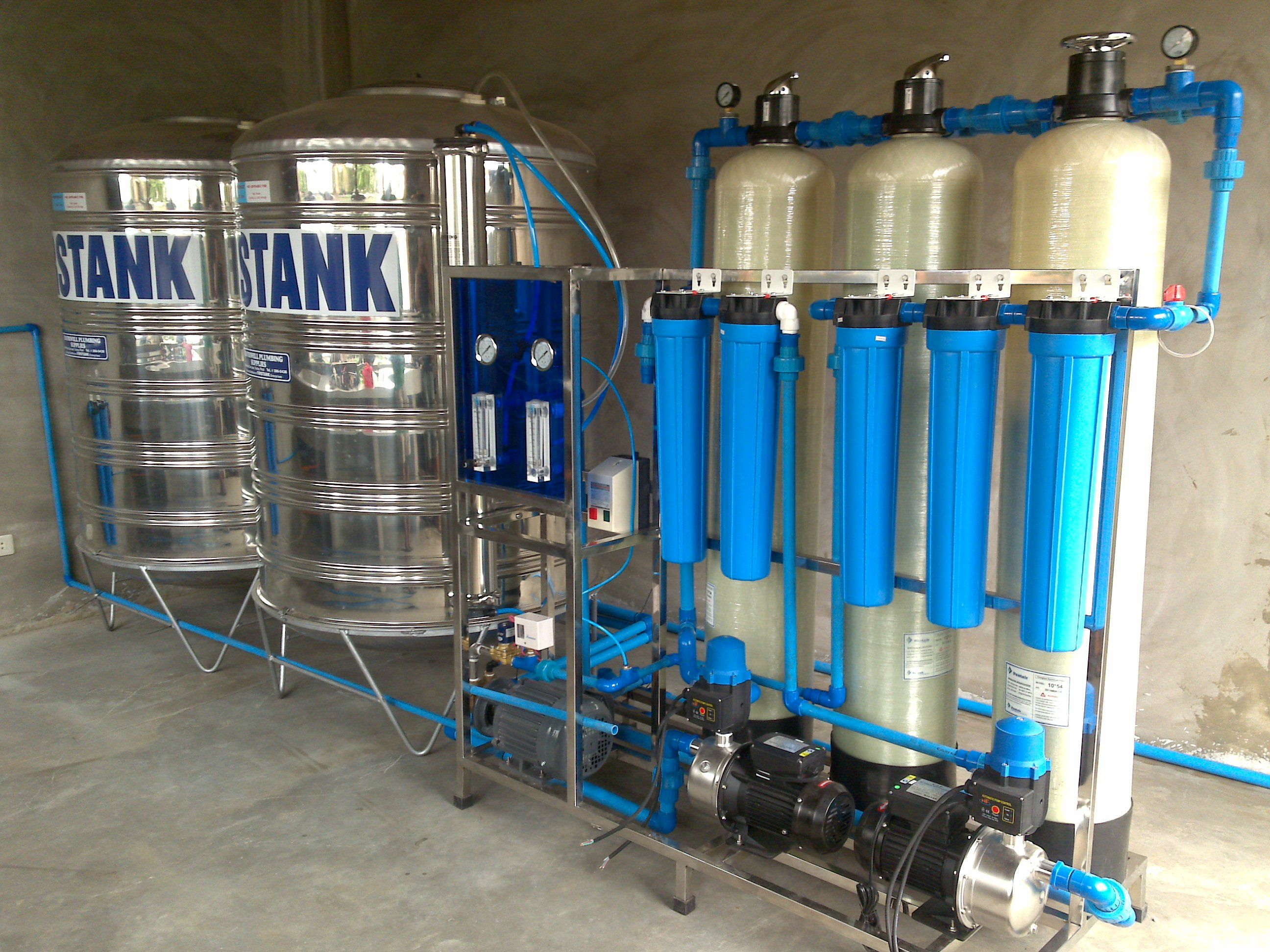 Water Refilling Station Business An Ofw S Future Water Station Station Water Storage