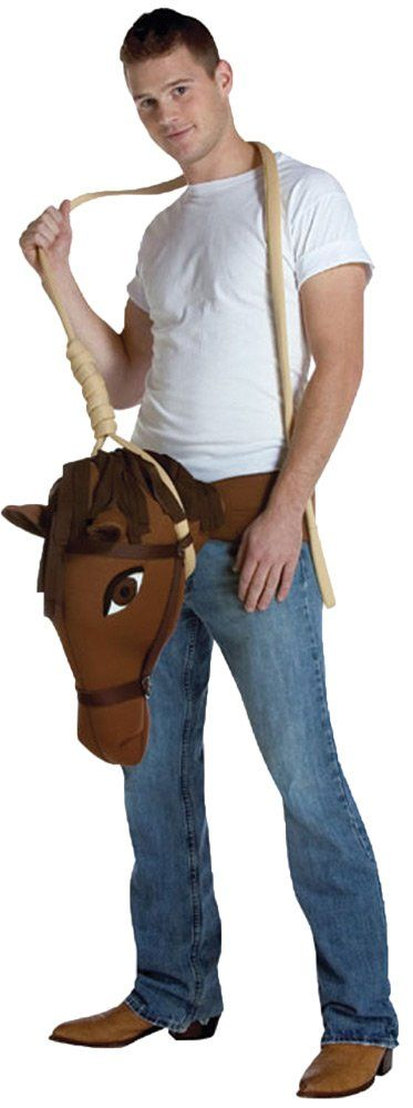 UHC Mens Hung Like A Horse Outfit Funny Comical Theme