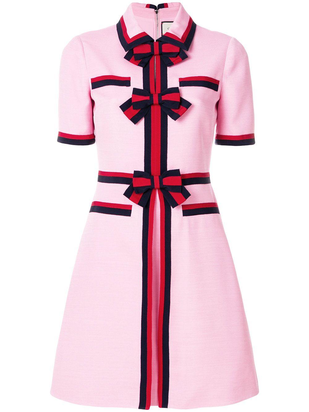 46728ec653 Gucci Bow detailed dress Γυναικεία Μόδα