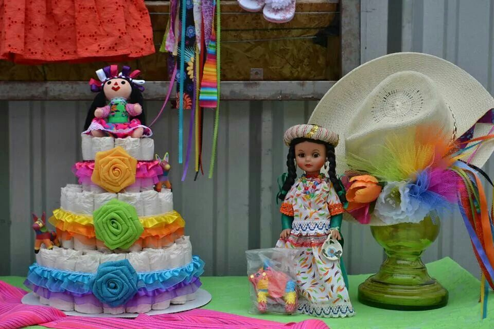 Diaper Cake Mexican Diaper Cake With Images Mexican