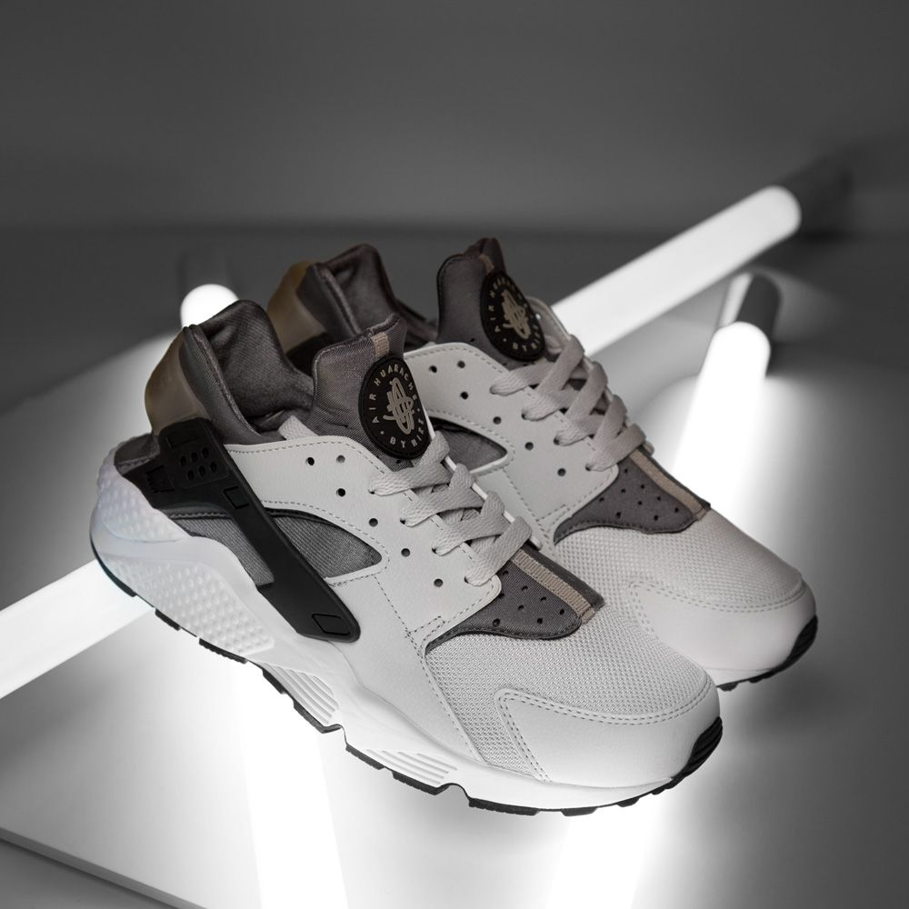 best service 786f8 51a00 New In - The Nike Air Huarache Trainer in Light Ash and Grey. Go cop a pair.