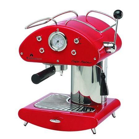 Espressione Café Retro Espresso Machine - Oh, she needs to be mine ...