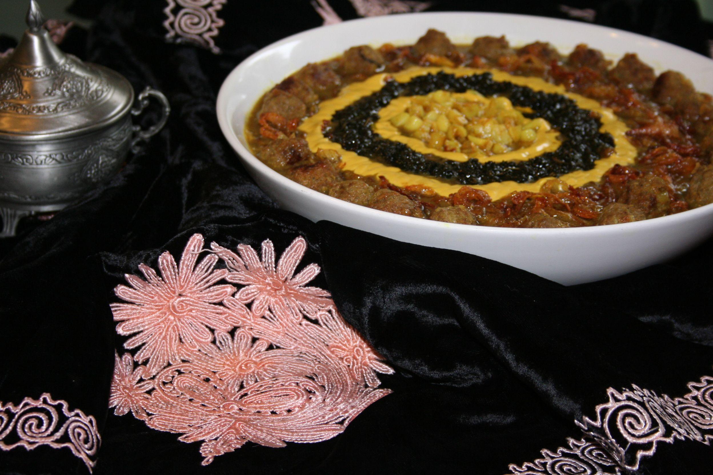 Persian noodle pottage ashe reshteh for delicious
