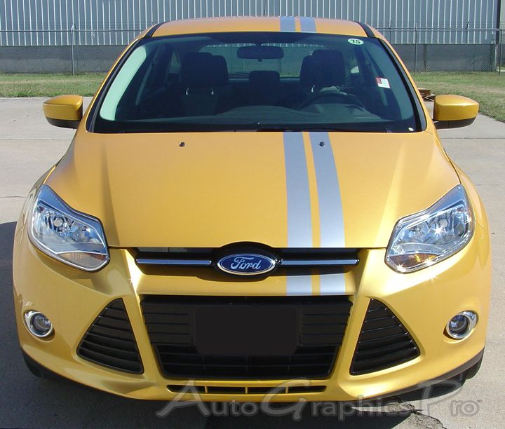 2005 2018 Ford Focus Rally Roll Euro Style Racing Stripes