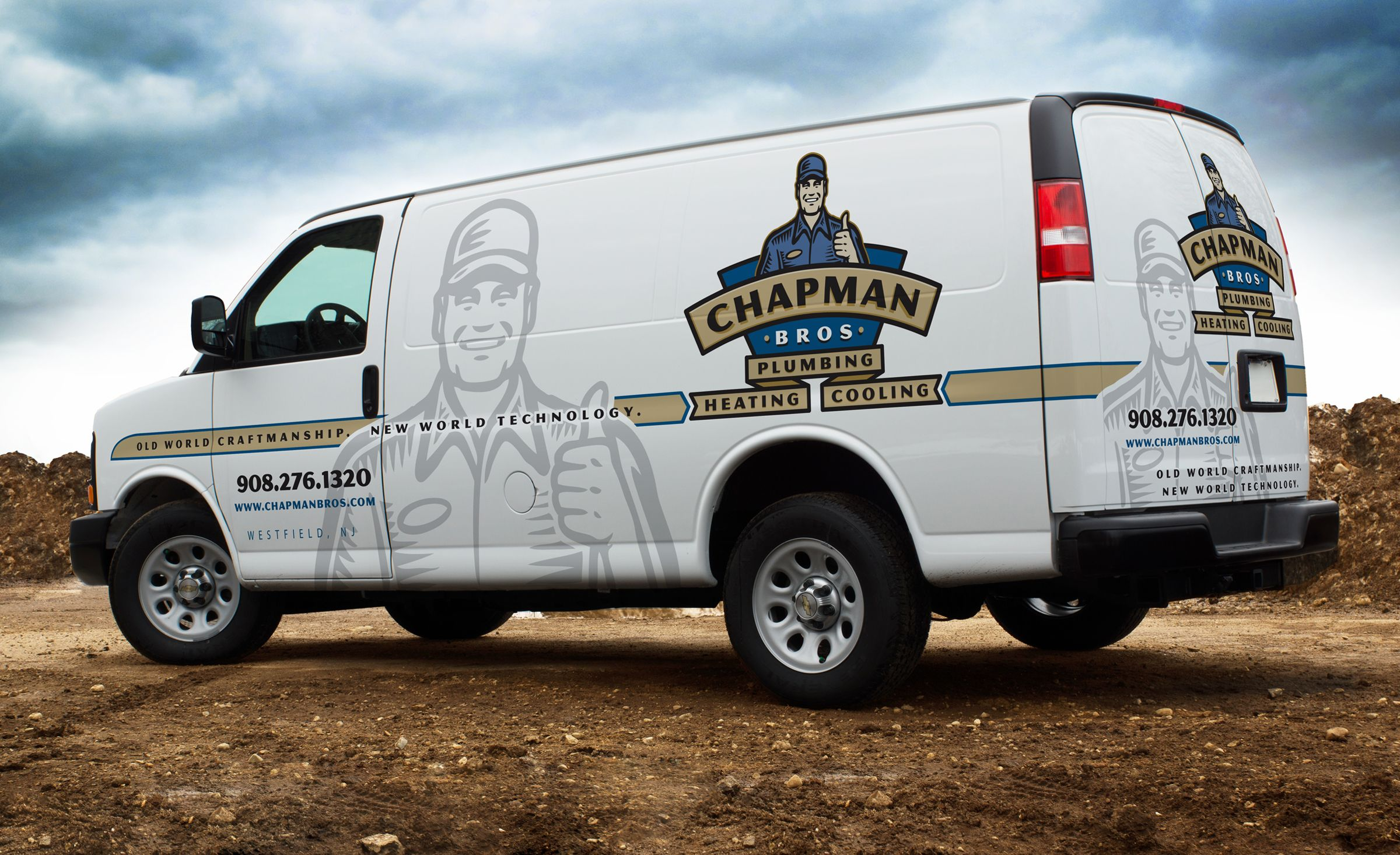 Chapman Bros Graphic D Signs Cool Trucks Vehicle Signage