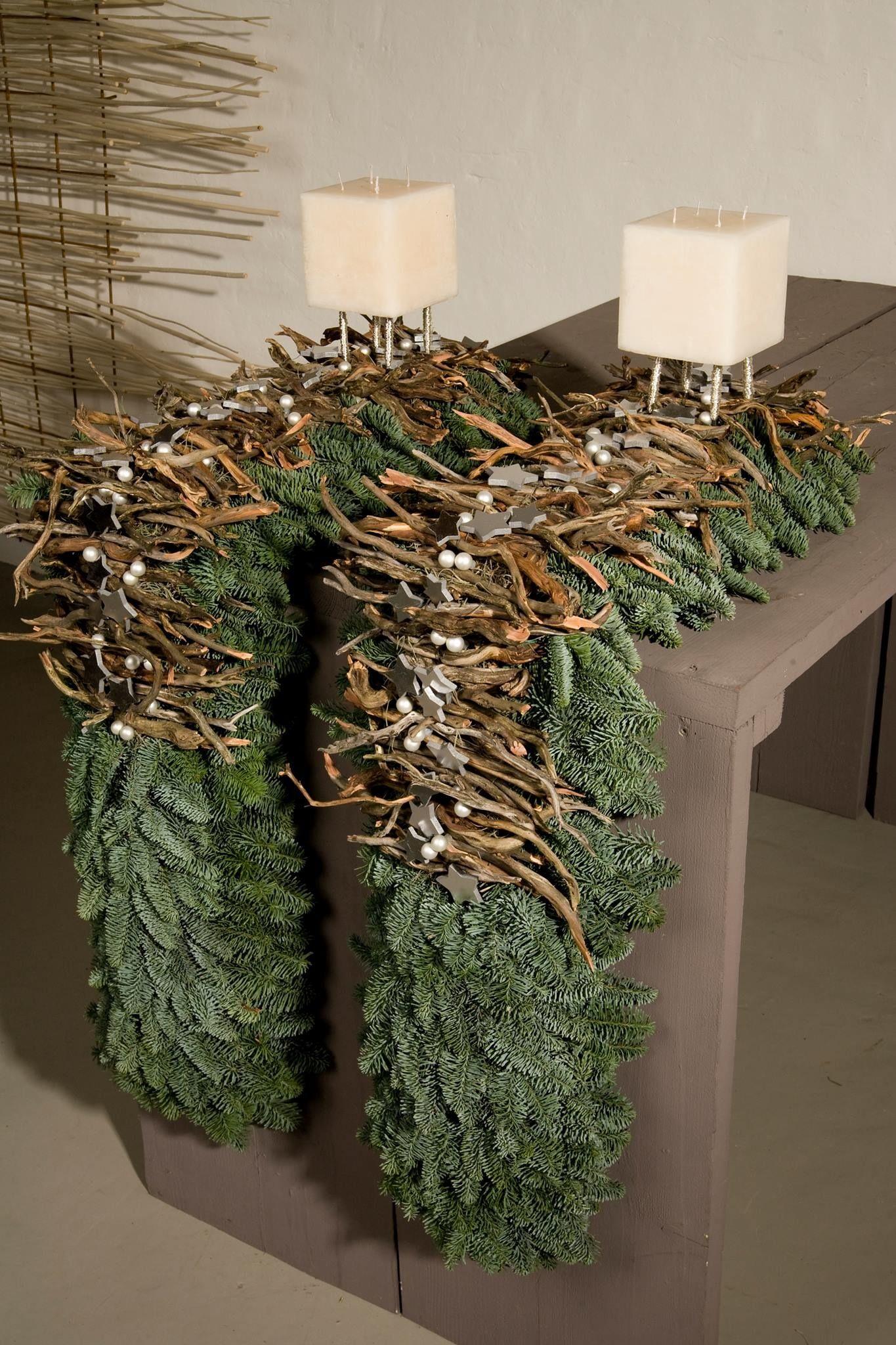 Tischgesteck #xmastabledecorations