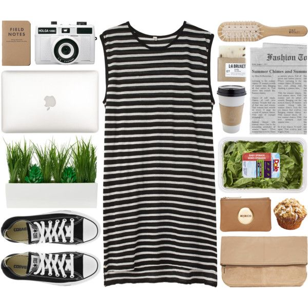 """""""DAY WEAR - APPLE CRUMBLE MUFFIN"""" by pretty-basic on Polyvore"""