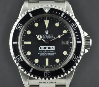 Rolex S/S Oyster Perpetual Comex Sea-Dweller 1665 http://www.watchcentre.com/product/rolex-s-s-oyster-perpetual-comex-sea-dweller-1665/1261