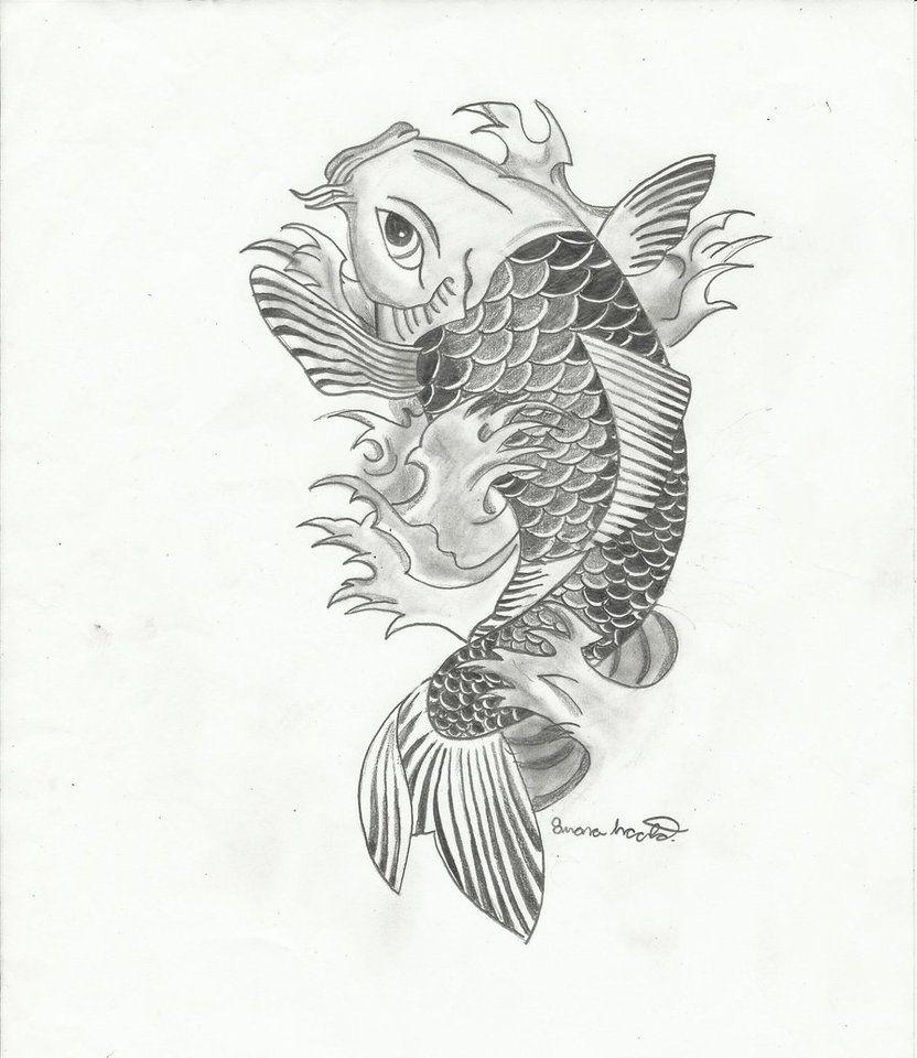 One Of My Favorite Koi Drawings Fish Drawings Koi Art Koi Fish Drawing