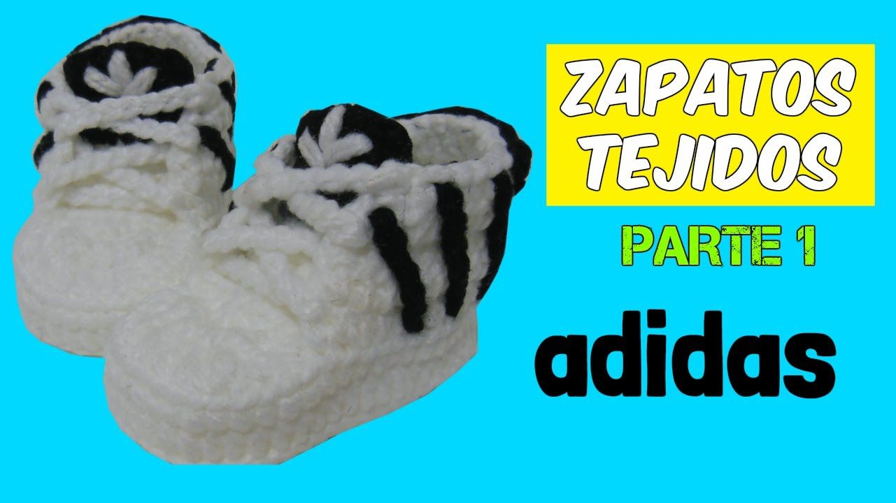 Crochet Adidas Knitted 3 Shoes 12 Parte 6 Months wHFH7PRqZ