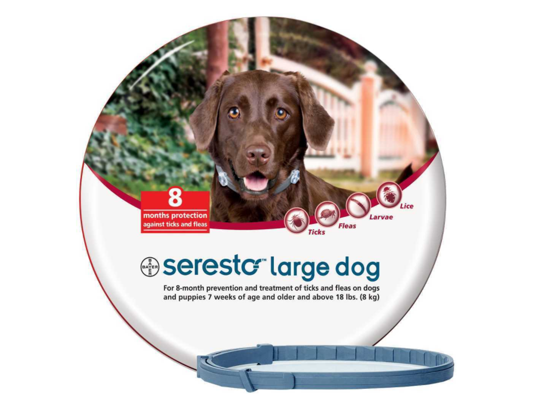Bayer Seresto Flea And Tick Collar For Large Dogs Over18lbs 8kg Kopek Ilac Evcilhayvanurunleri Barinak Amerik Evcil Hayvan Urunleri Evcil Hayvanlar Kedi