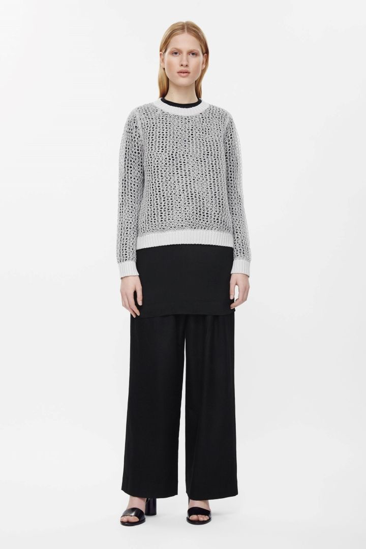 COS | Boxy stitch-knit jumper