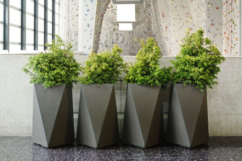 large modern outdoor planters products outdoor planters rh pinterest com Contemporary Plants Modern Landscape Planters