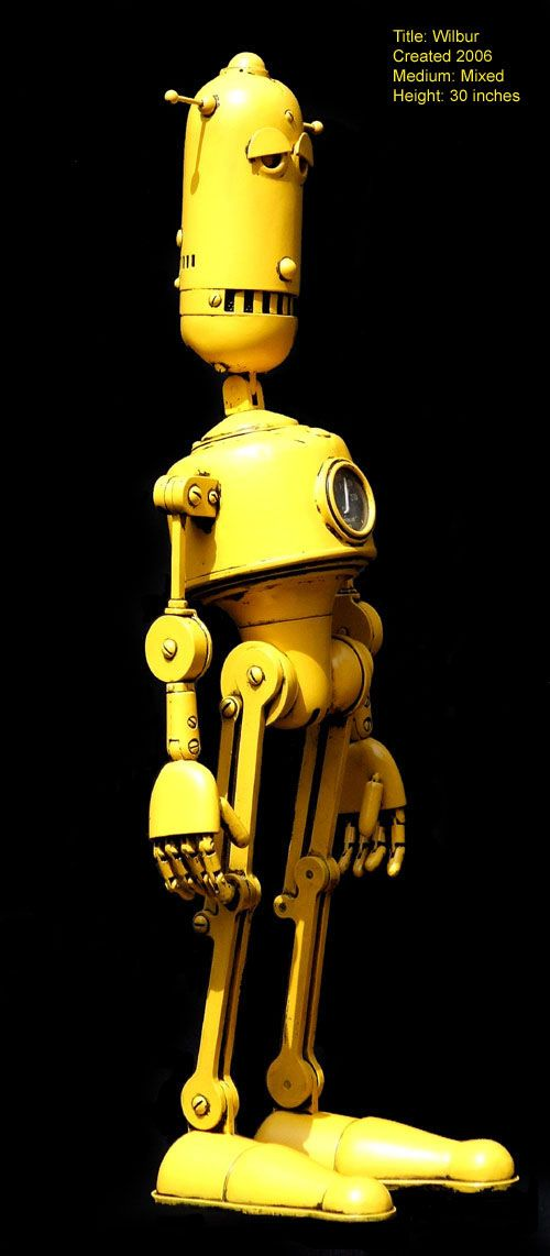 The Steampunk Robots Of Lawrence Northey.