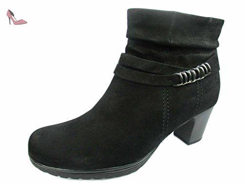 Gabor Shoes Comfort Basic, Bottes Femme, Noir (Schwarz Micro), 38.5 EU