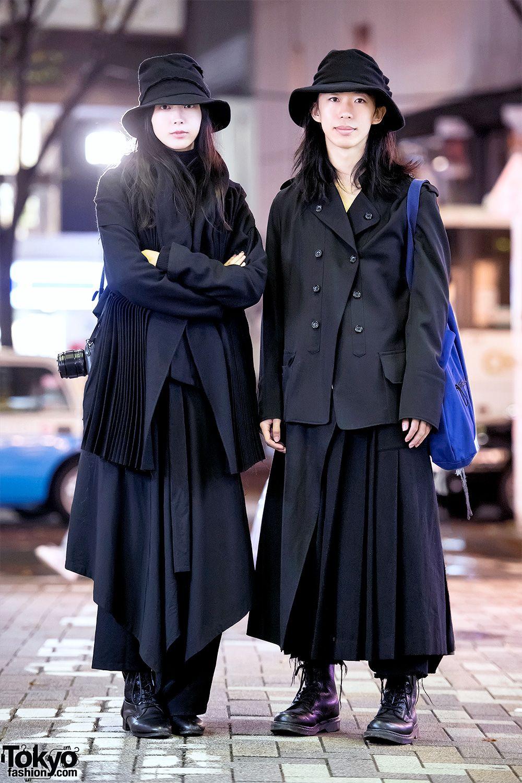 Yohji Yamamoto Minimalist Japanese Street Styles In Harajuku Harajuku Fashion Street Tokyo Fashion Japan Fashion