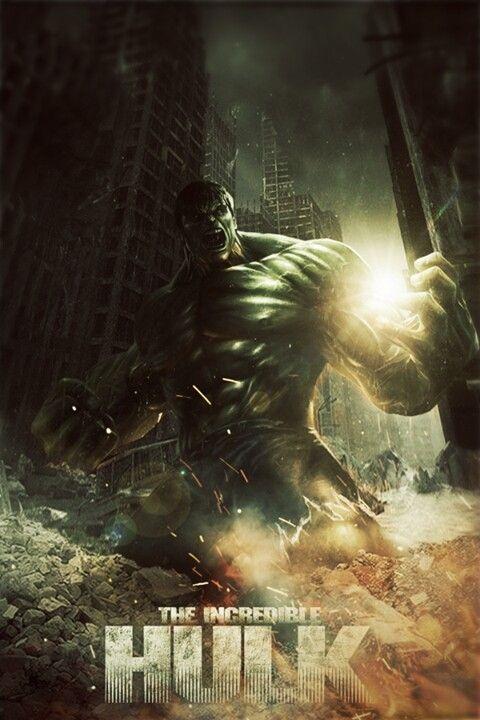 Amp Poster For The Incredible Hulk Credit Belongs To The Artist Incredible Hulk The Incredibles Hulk