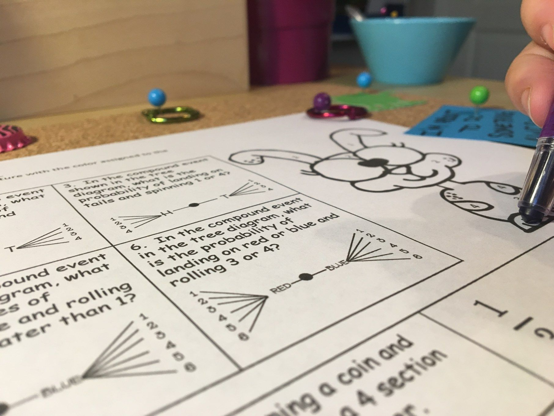 12 Easy Amp Activities For Teaching Compound Probability