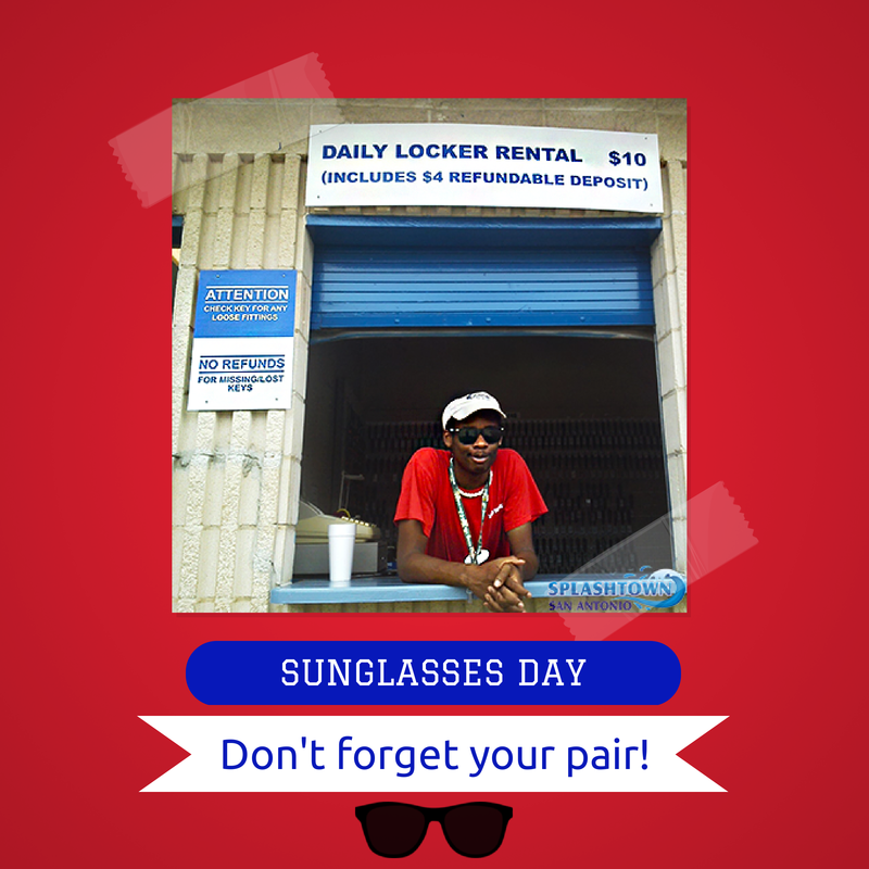 Today is #SunglassesDay so be sure to slip your shades on!