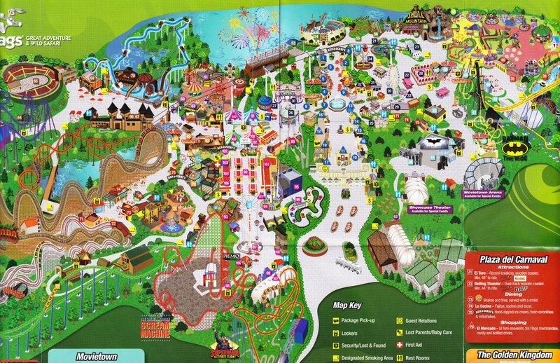 Six Flags New Jersey Six Flags Great Adventure New Jersey Six Flags Great Adventure Greatest Adventure Flag