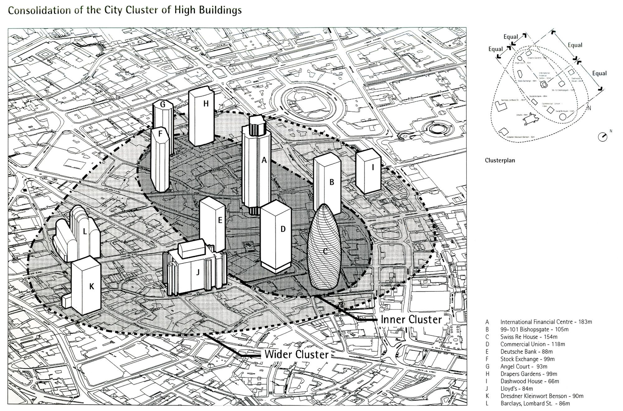 Gallery Of The Gherkin How London S Famous Tower Leveraged Risk And Became An Icon Part 4 7 Architecture Drawings Tower London Landmarks
