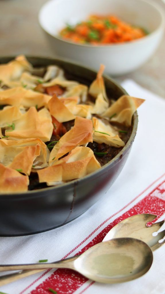 Slimming World 3 Syn Each One Pan Steak & Ale Filo Pastry ...