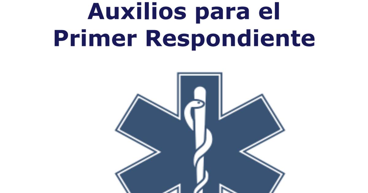 guia de Taller de Primeros Auxilios.pdf | Anatomía | Pinterest