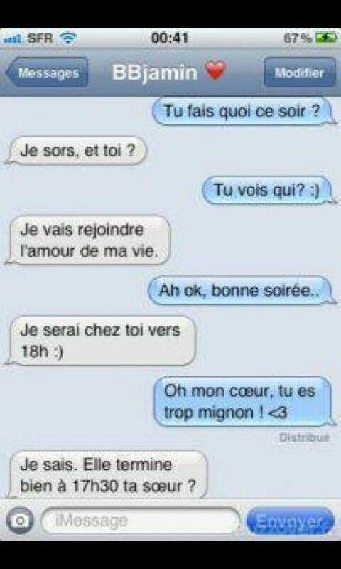 Blague sms dr le blagues dr les citations pinterest blague sms sms dr les et sms - Photo super drole ...