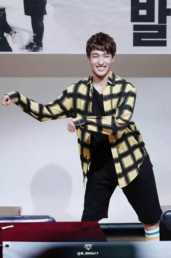 Not the handsomest guy in the group but he's so funny and cute. And that smile <3 <3 #DK #Seokmin #Seventeen