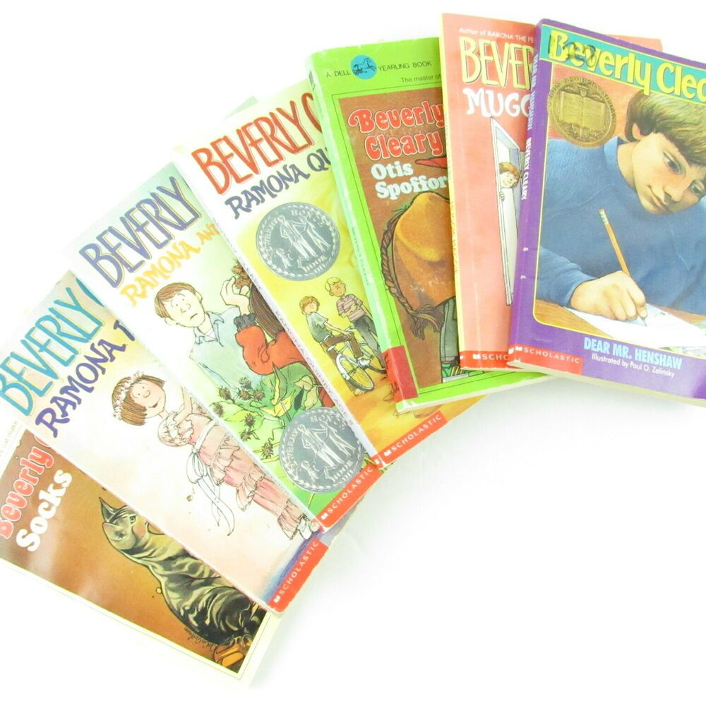Beverly cleary lot of 7 paperback chapter books muggie