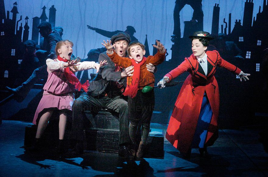 Mary Poppins at the Prince Edward Theatre CREDIT Geraint Lewis