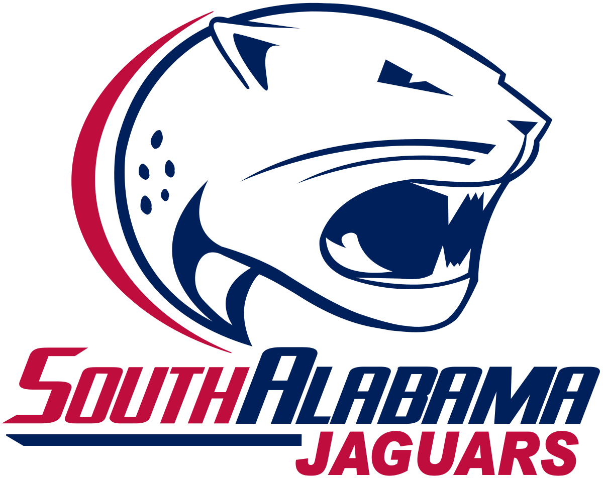 Sun Belt Map Jaguars, Sports logo, Team logo