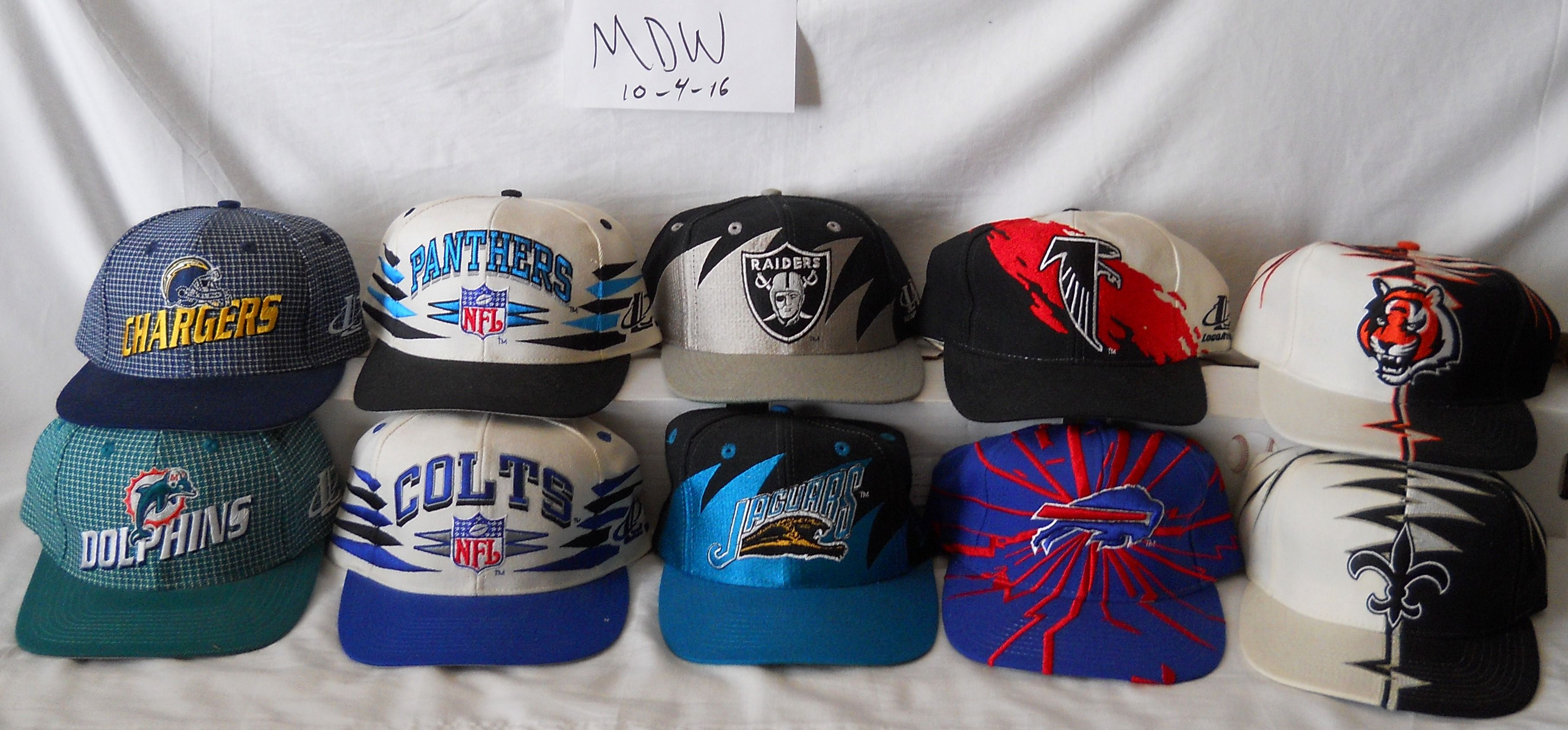 Vintage NFL hats lot 2 - Logo Athletic (shartktooth 8759eb8ffed
