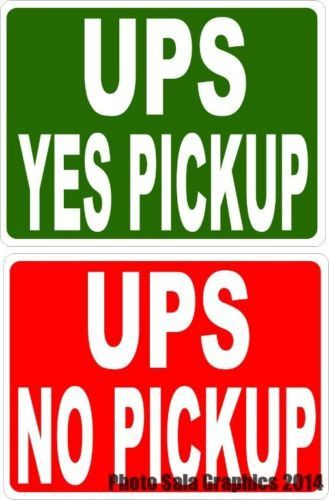 Pick up Sign for Business