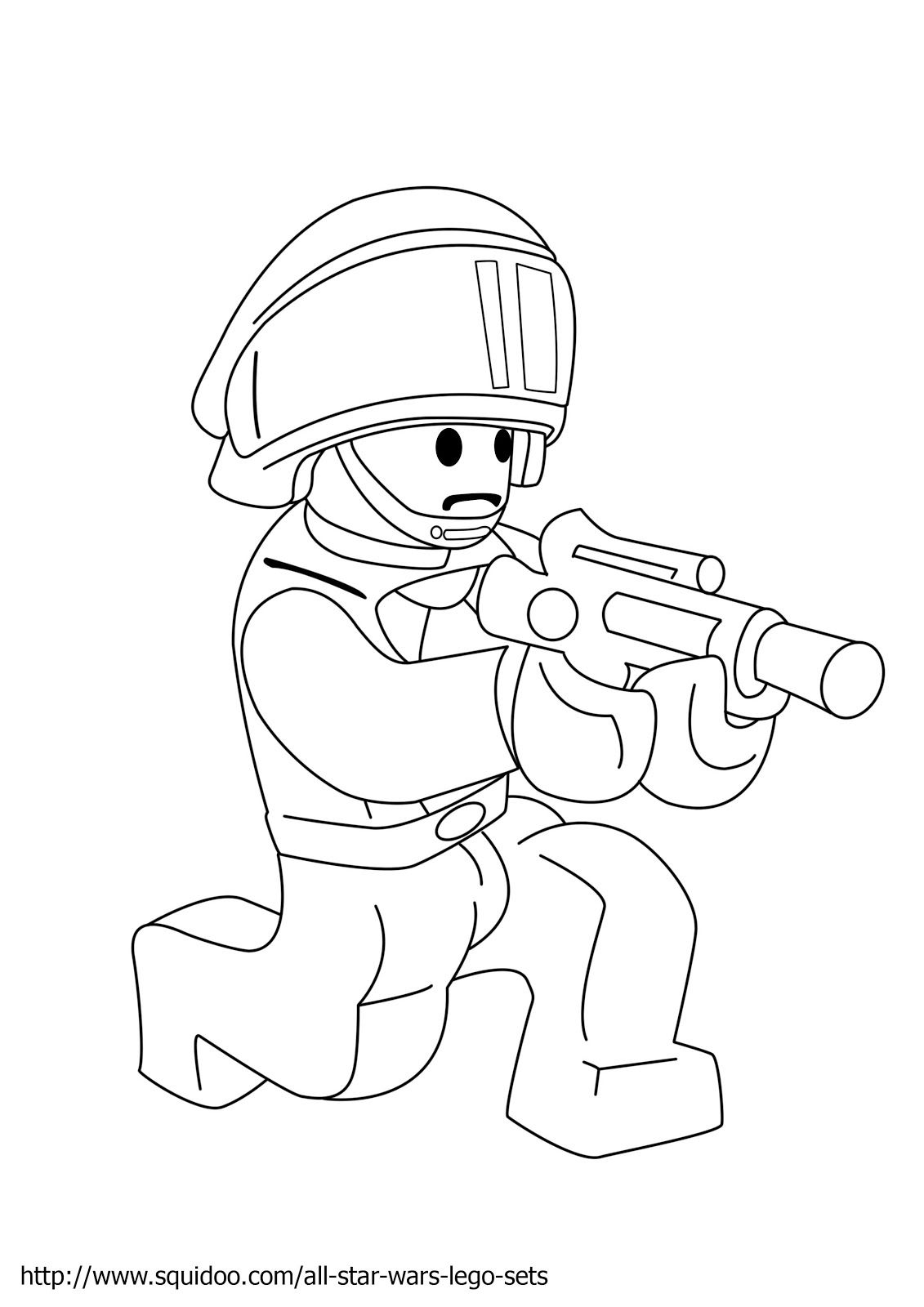 Free coloring pages lego star wars - Kids Colouring