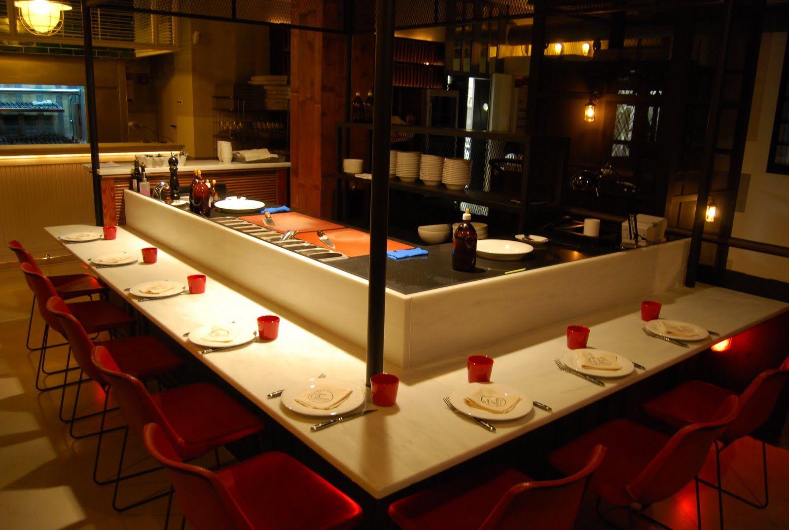 Tartar and Caviar Bar at Casa Paloma