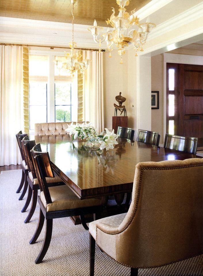 Marlene Weiss Alexander's DC dining room features Niermann ...