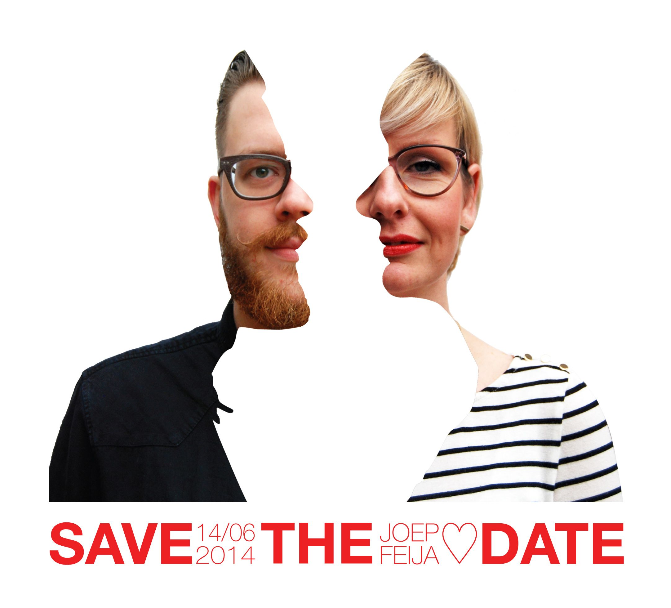 save the date  made by femkeroefs.nl