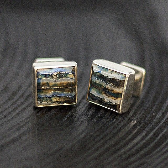 Mammoth tooth cufflinks. #mammothtooth #mammothmolar  #mammoth #jewelry #silver