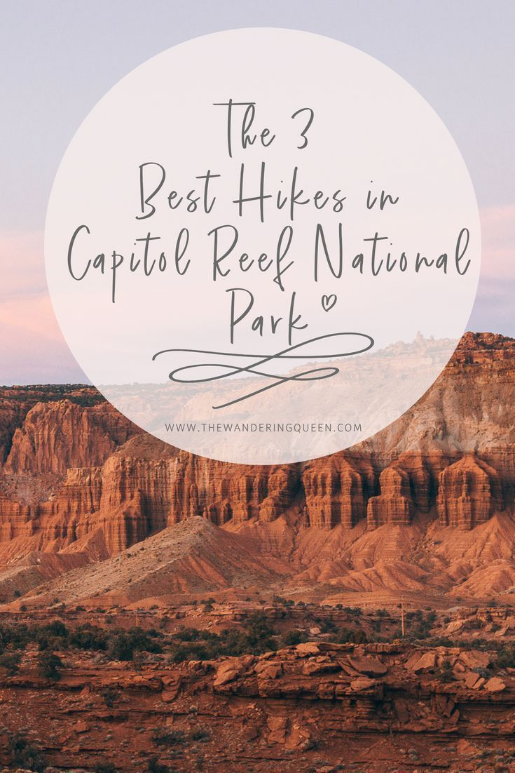 The Absolute Best Things To Do In Capitol Reef National Park #utahusa