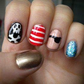 pirate  nail art for girls pirate nails pirate nail art